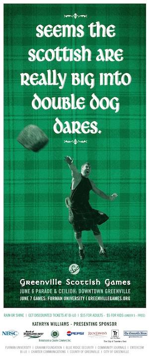 Scottish-Games-freelance-copywriter-Lochness-Marketing-greenville-double-dog