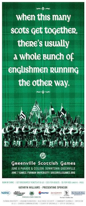Scottish-Games-freelance-copywriter-Lochness-Marketing-greenville-englishmen