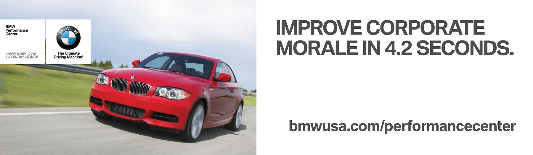 BMW-Performance-Center-advertising-copywriting-by-Lochness-Marketing-corporate-morale