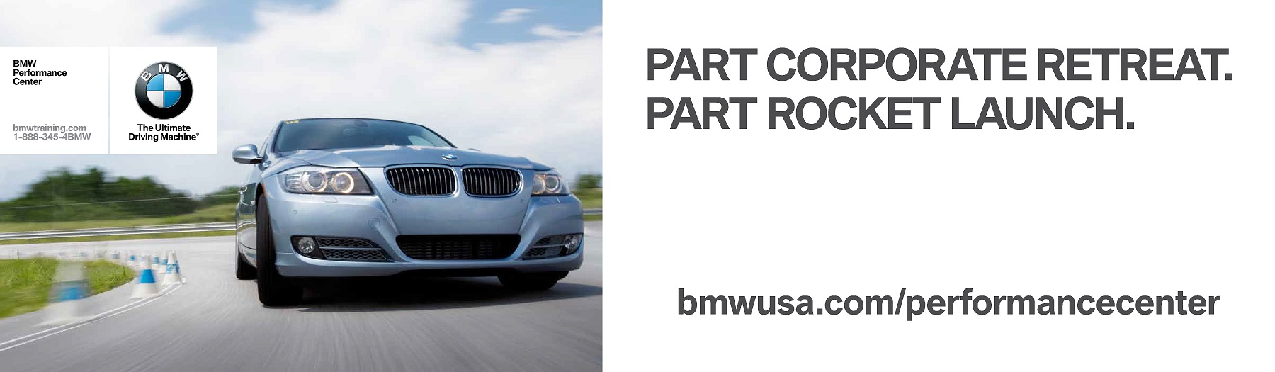 BMW-Performance-Center-advertising-copywriting-Lochness-Marketing-corporate-rocket-launch