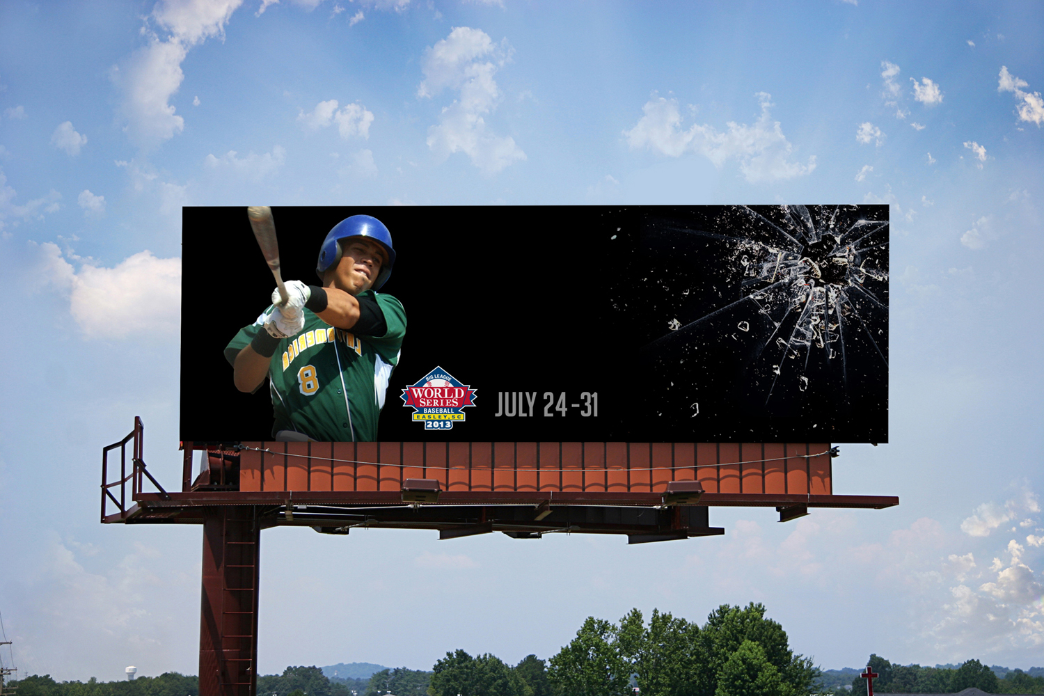 Big-League-World-Series-outdoor-advertising-copywriting-work-by-Lochness-Marketing-greenville-glass