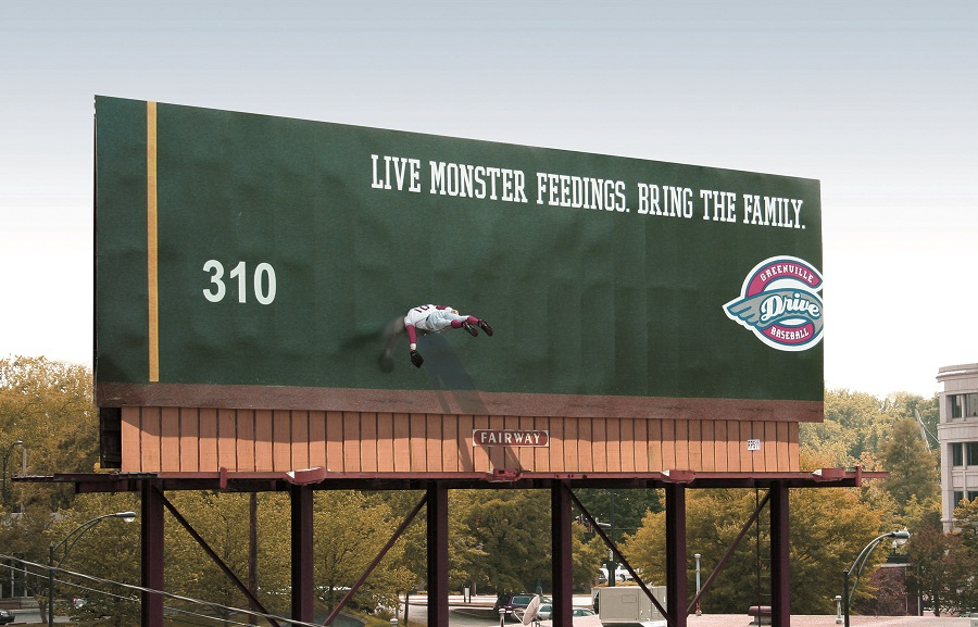 Greenville-Drive-outdoor-advertising-copywriting-by-lochness-marketing-green-monster