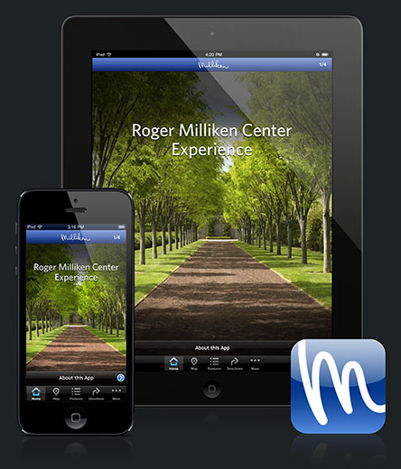 App and Website Copywriting work by Lochness Marketing in greenville for Milliken app 1
