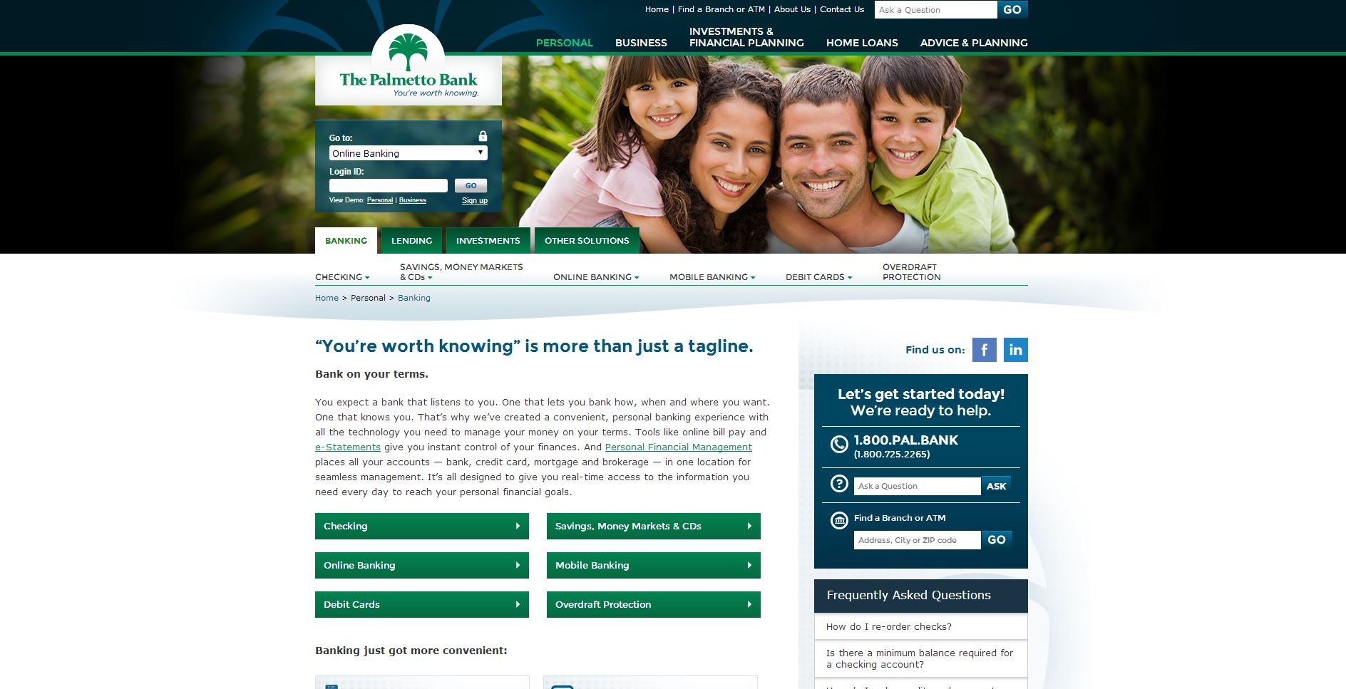 Palmetto-Bank-website-copywriting-and-seo-copywriting-by-Lochness-Marketing-personal-page