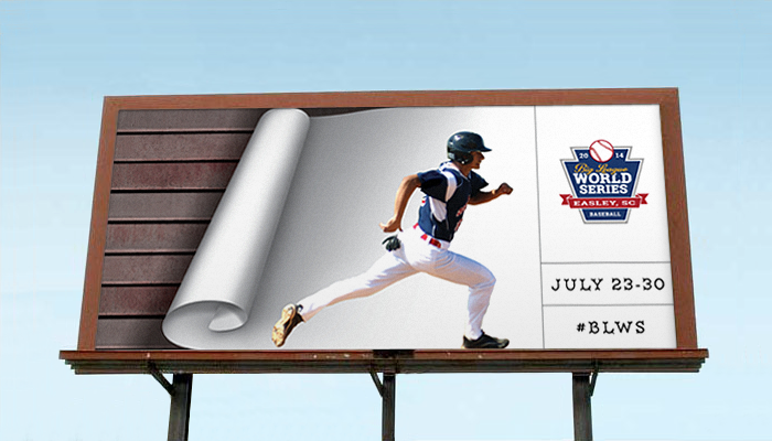 big-league-world-series-advertising-copywriting-outdoor-by-Lochness-Marketing-greenville-runner