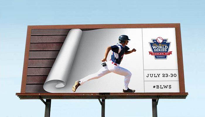 big-league-world-series-advertising-copywriting-outdoor-by-Lochness-Marketing-greenville-runner