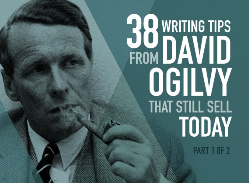 David Ogilvy Quotes Captivating Lochness  38 Writing Tips From David Ogilvy  Lochness Marketing Blog