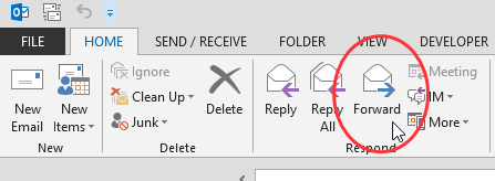 Outlook Button is Pure Evil | Lochness Marketing blog David Ogilvy