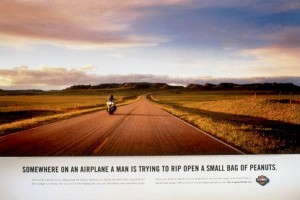 Harley Davidson ad| LochnessMarketing blog on David Ogilvy