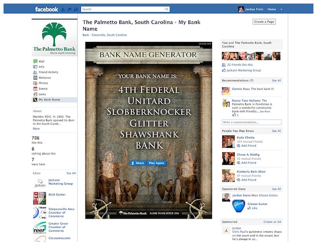 Palmetto-Bank-Facebook-App-and-website-copywriting-greenville-Lochness-Marketing-Bank-Name