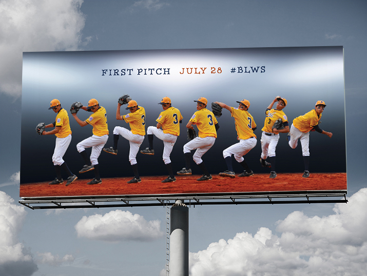 Big-League-World-Series-baseball-outdoor-advertising-copywriting-Lochness-Marketing-first-pitch
