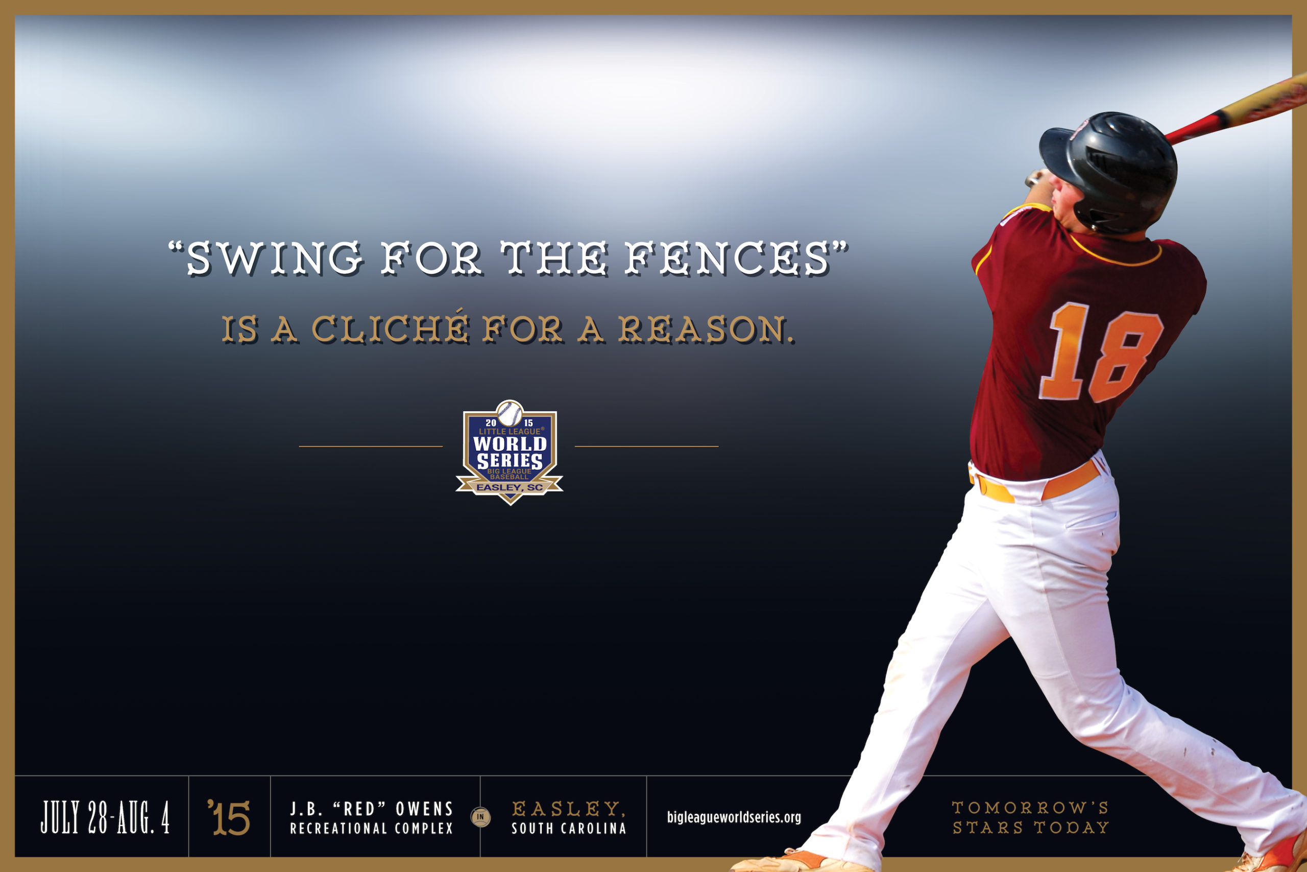 Big-League-World-Series-baseball-poster-advertising-copywriting-Lochness-Marketing-HR