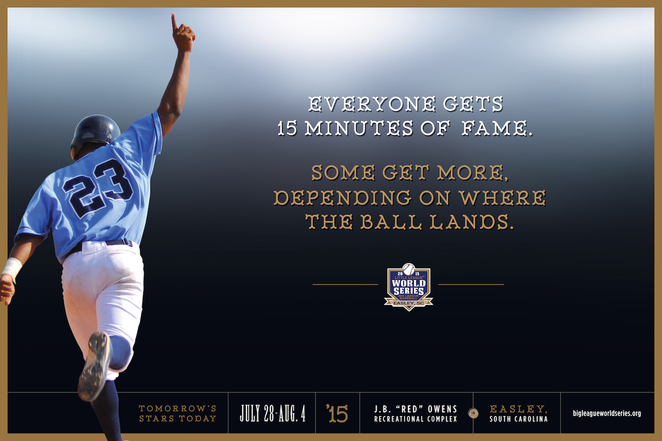 Big-League-World-Series-baseball-poster-advertising-copywriting-Lochness-Marketing-ball-lands