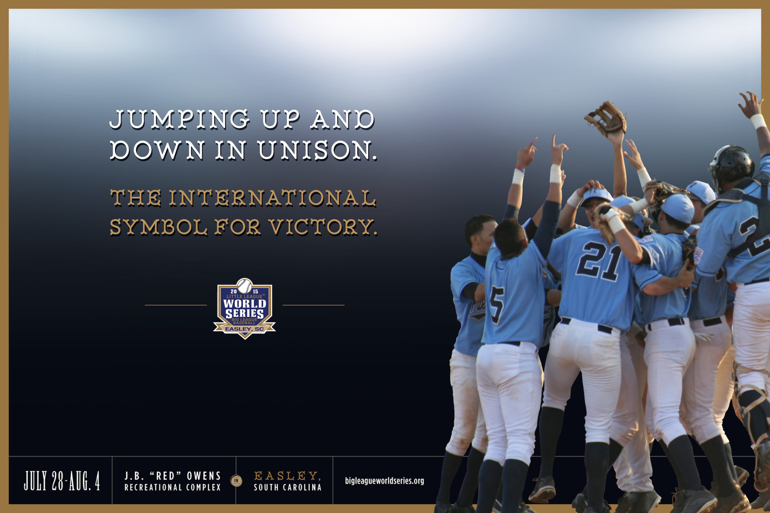 Big-League-World-Series-baseball-poster-advertising-copywriting-Lochness-Marketing-victory