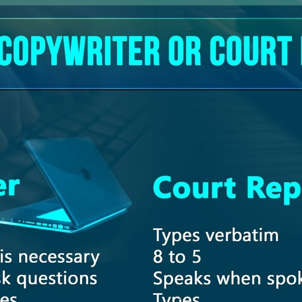 Lochness-Marketing-Copywriter-VS-Court-Reporter Hero Image