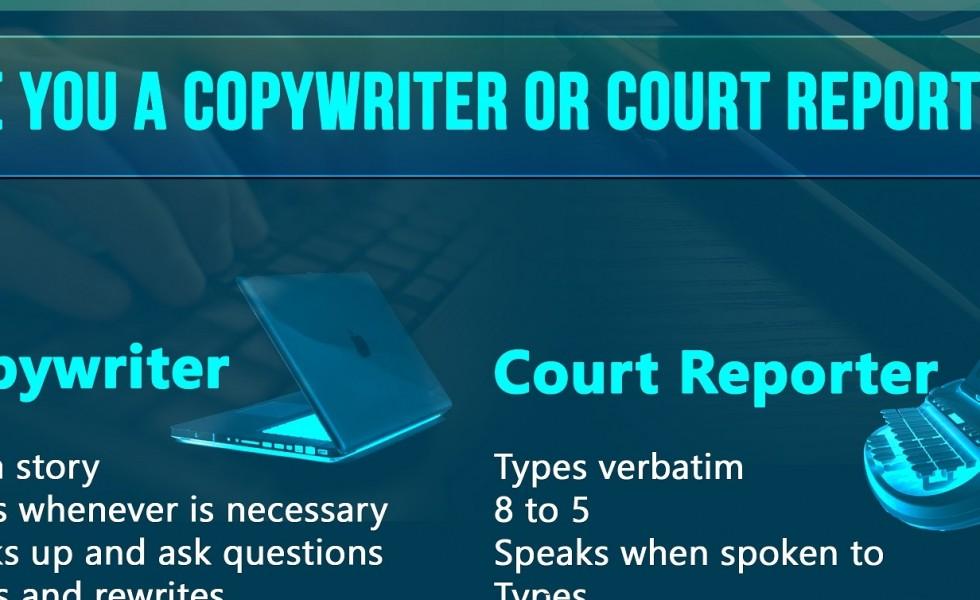 Lochness-Marketing-Copywriter-VS-Court-Reporter Hero Image